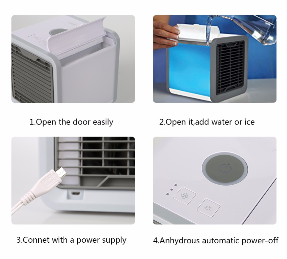CoolAir Air Cooler Features