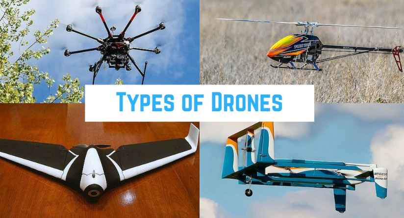 Different types of drones explained